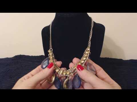 ASMR Whisper ~ Close-Up Jewelry/Necklace Show & Tell