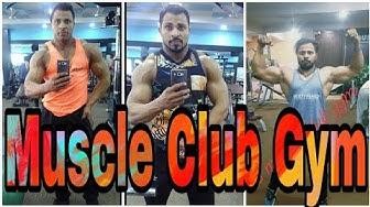 Muscle Club Gym in Ghaziabad/Delhi NCR   Best Gym in Ghaziabad   Manoj Gupta   Body Building in Gym