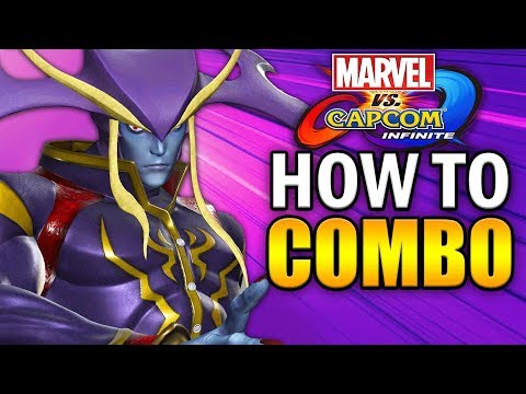 JEDAH Combo Guide - Marvel vs Capcom Infinite - Basic to Advanced!