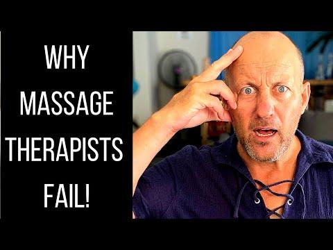The No. 1 Reason Massage Therapists Fail!
