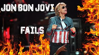 This is a collection of some fails of Jon Bon Jovi. Nobody is fault...