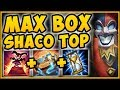 BAITED AND OUTSMARTED! 1 SHACO BOX DID HOW MUCH DAMAGE?? AP SHACO SEASON 9 TOP! - League of Legends