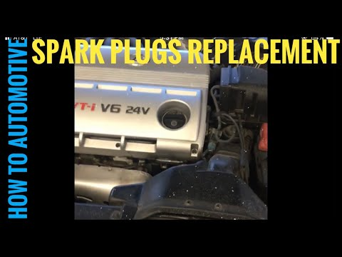 How to Replace Spark Plugs on a 2002 Lexus ES300