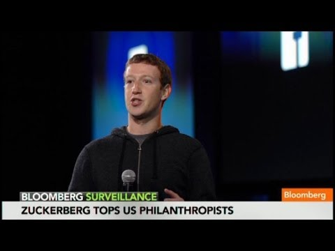 Zuckerberg's New Title: Most Generous Philanthropist