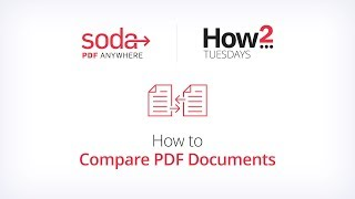 PDF Belgeleri Karşılaştırmak için nasıl