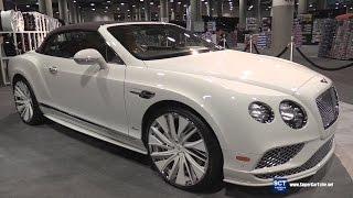 Bentley Continental GT Speed Convertible by Lexani - Exterior Walkaround - 2016 LA Auto Show