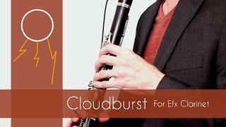 Mothersole, Chris | Cloudburst, a Rhapsody for Electric Clarinet (Music Video)