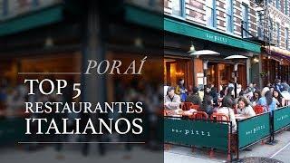 Download Video Top 5 Restaurantes Italianos - Por aí com Camilla MP3 3GP MP4