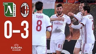 Highlights Ludogorets 0-3 AC Milan - Europa League 2017/18