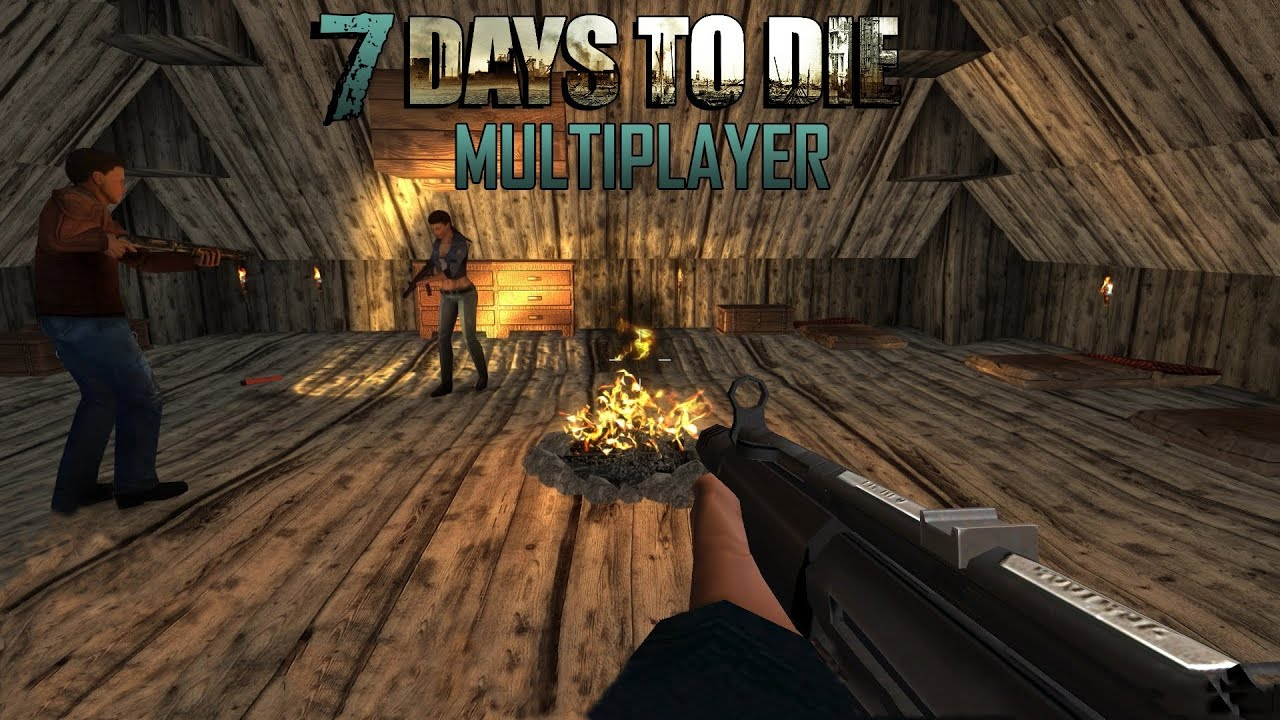 7 days to die multiplayer day 2 youtube. Black Bedroom Furniture Sets. Home Design Ideas