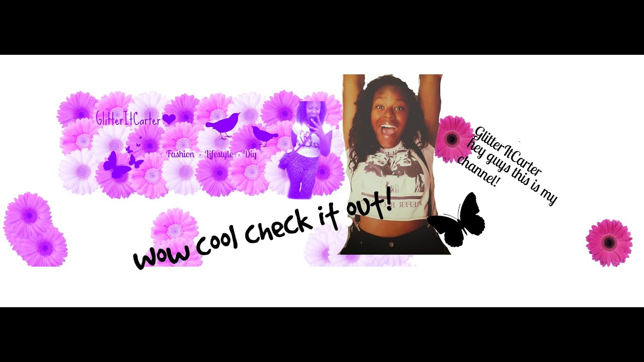 wisteriamoon how to make channel art