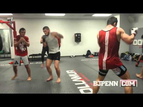 AKA's Killers Gather -- Cain, D.C., Rockhold, Khabib, More Training Footage -- All Access
