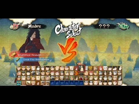 Naruto Shippuden UNS3 All Characters Ninjutsus & Ultimate Jutsus
