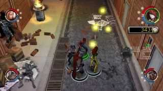 Marvel Ultimate Alliance 2 psp gameplay