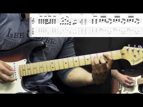 John Mayer - Like A Rolling Stone - Rock Guitar Lesson (w/Tabs)