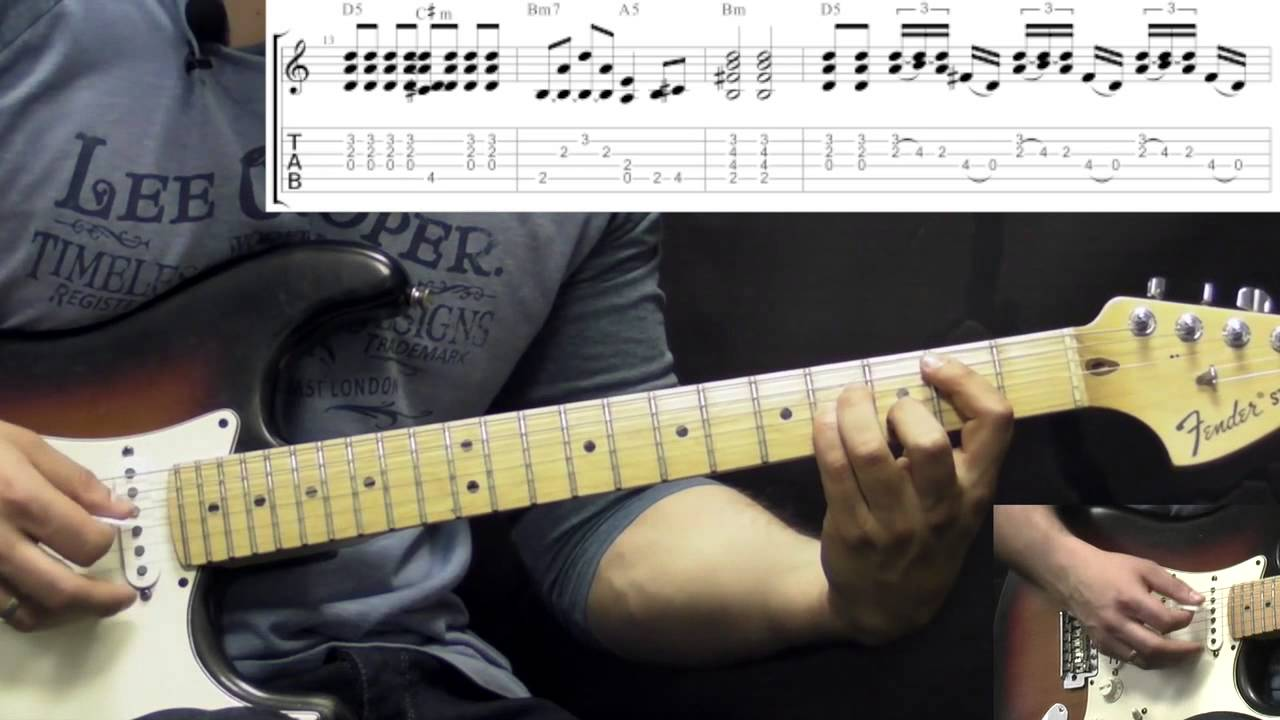 John Mayer Like A Rolling Stone Rock Guitar Lesson Wtabs
