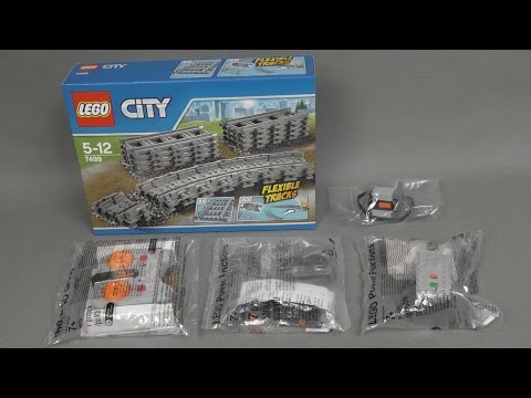 Recenzja i Unboxing zestawów LEGO City Trains - 7499 , 8879 , 8884 , 880000 , 88002
