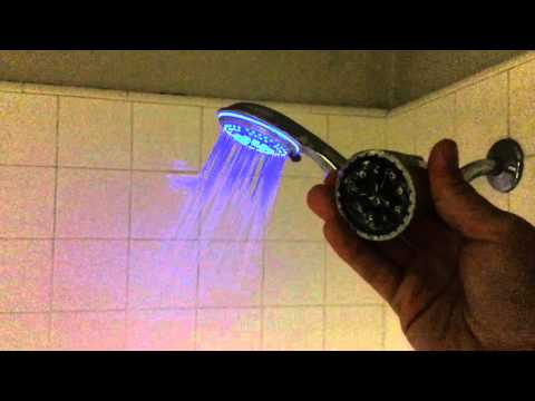 """dreamspa-color-changing-led-shower-head-review-""""finally-water-pressure!!!"""