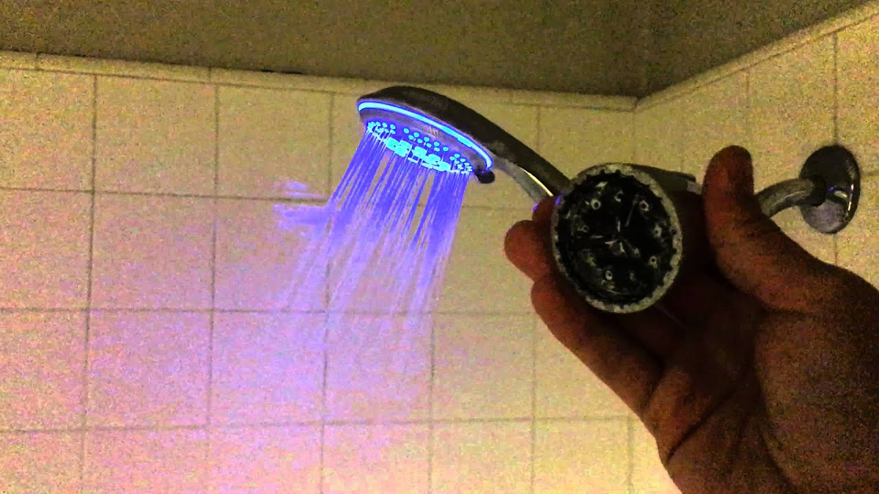 DreamSpa Color Changing LED Shower Head Review Finally