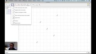 Construction de parallélogramme avec Geogebra