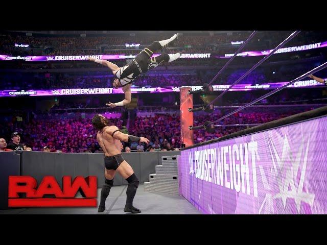 Mustafa Ali vs. Neville: Raw, April 3, 2017