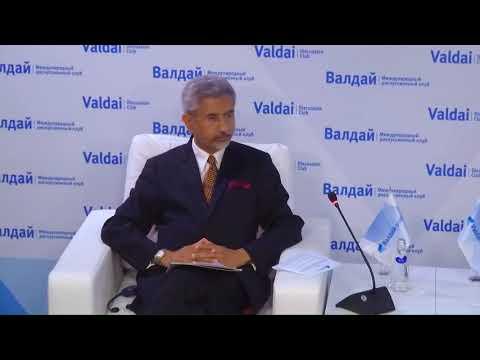 Meeting With Indian Foreign Minister Subrahmanyam Jaishankar