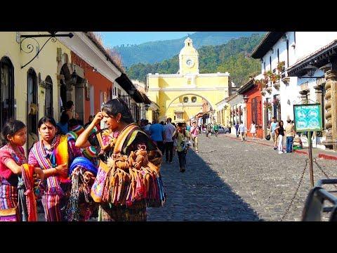 (1/2) Antigua Guatemala Walk 2018