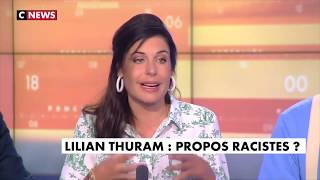 Charlotte d'Ornellas réagit aux propos de Lilian Thuram