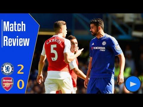 Match Review | 15/16 | Chelsea 2 - 0 Arsenal (Premier League)