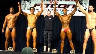 NEW ANBF PRO: Nick Ross WINS FITCON 2014 (Bodybuilding show)