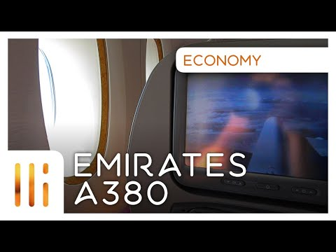 Emirates A380! Economy Flight Review - MEL to AKL
