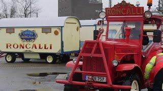 Der Circus Roncalli kommt mit dem Zug