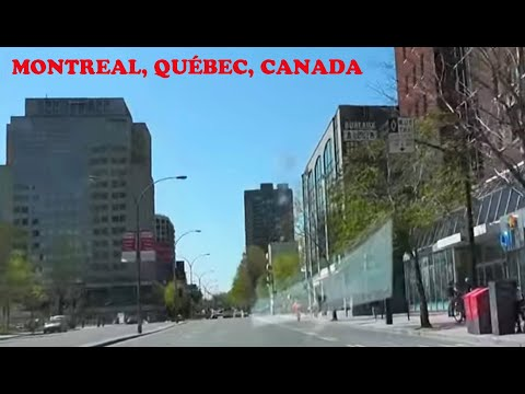 Montreal, Canada: Boulevard René-Lévesque