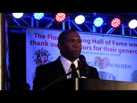 Howard Davis Jr. Florida Boxing Hall of Fame Induction Speech