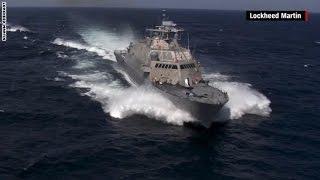 البحرية الأمريكية تنشر فيديو لسفينتها الحربية الجديدة