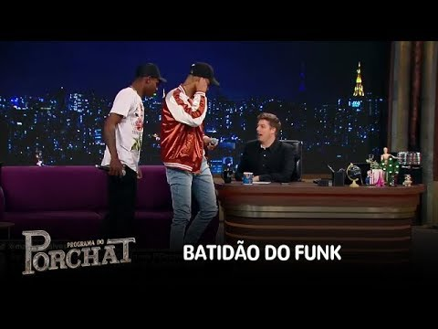 MC Zaac E MC Kekel Cantam Hits Do Funk No Palco Do Programa Do Porchat