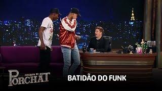 Baixar MC Zaac e MC Kekel cantam hits do funk no palco do Programa do Porchat