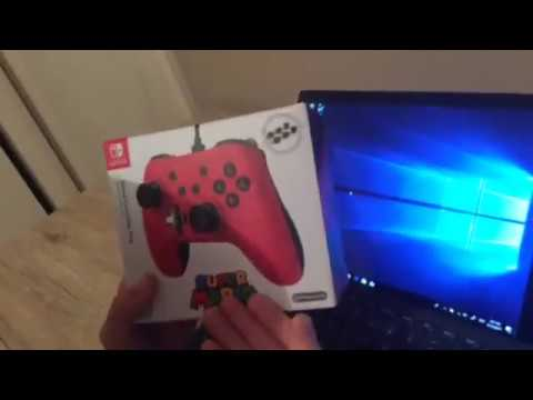 how to use Nintendo switch wired controller on pc/mac(Steam)