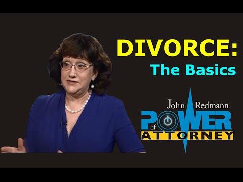 Divorce Law: The Basics