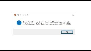 Download Apex legends VC++ runtime error fix Mp3 and Videos