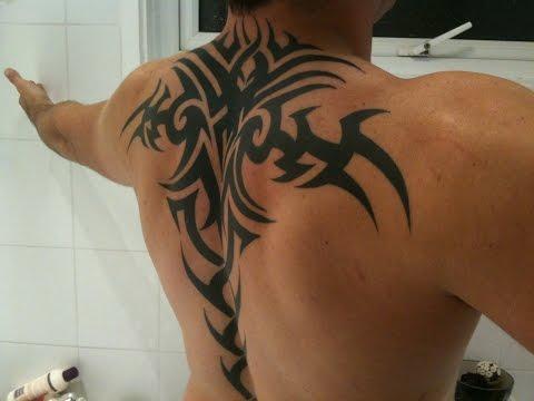 Tribal Tattoo Designs For Men On Back