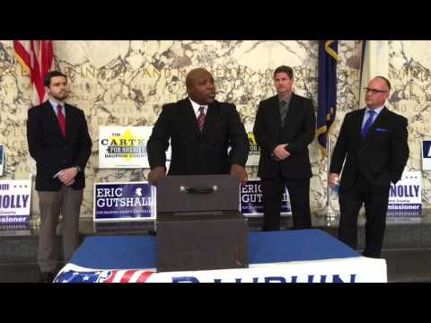 Dauphin County Democratic sheriff candidate talks experience