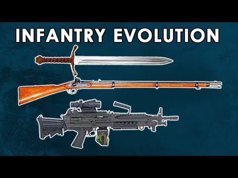 How Did Infantry Warfare Evolve From Swords To Guns?