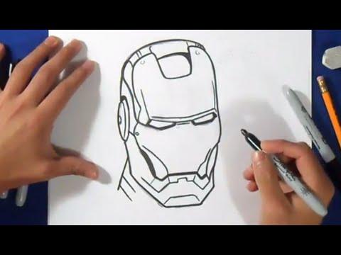 Comment dessiner ironman wie zeichnet youtube - Dessin ironman ...