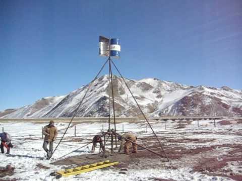 Water Pumping VAWT Mongolia