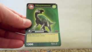 Dinosaur King: Colossal Team Battle TCG Pack Opening - 5 Two Pack Blisters (Part 1)