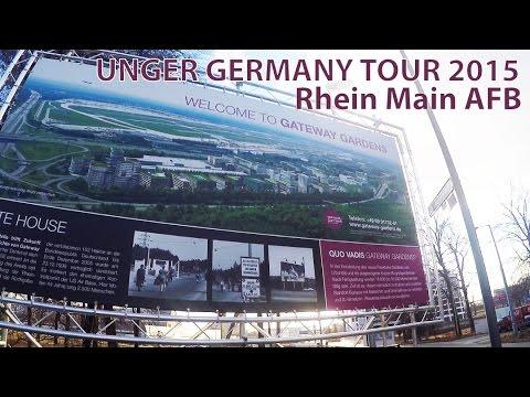 Unger Germany Tour 2015 - Rhein Main AFB - Drive Through