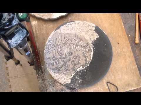 Pottery Process: Slip Inlay