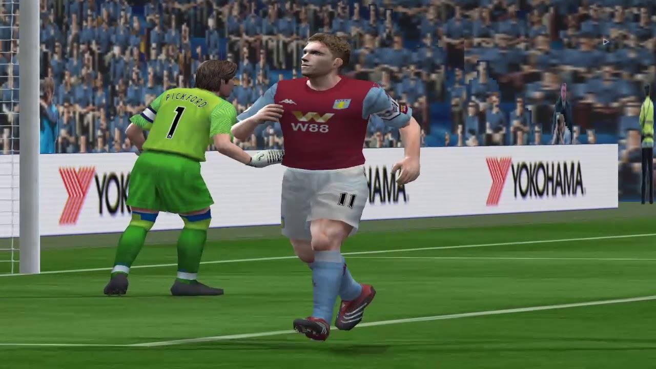 Aston Villa - Everton FA CUP 1\8