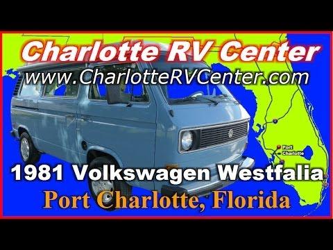 1981 Volkswagen Westfalia Used Class B Motorhome FOR SALE; Stock# 904P